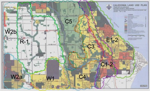 Caledonia Neighborhood Plan Map