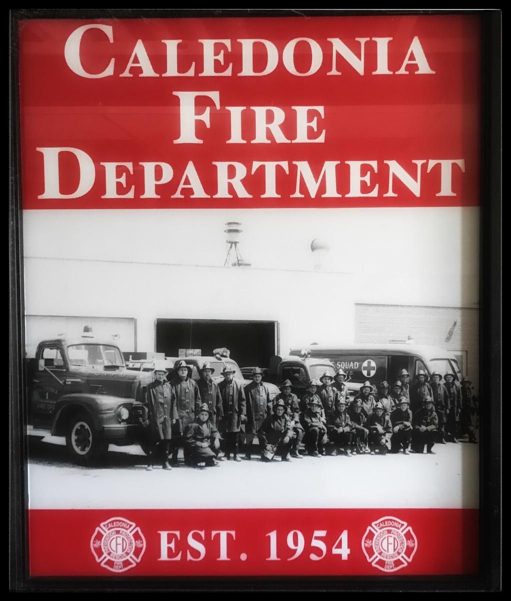 Caledonia Fire Department Logo